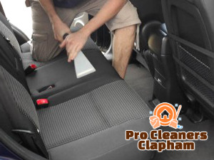 Car Interior Steam Cleaning Clapham